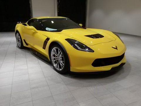 PRE-OWNED 2017 CHEVROLET CORVETTE Z06 RWD 2D COUPE