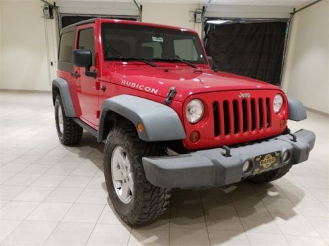 PRE-OWNED 2010 JEEP WRANGLER RUBICON 4WD
