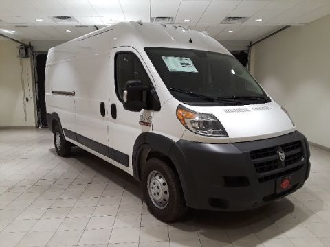 "NEW 2018 RAM PROMASTER 2500 CARGO VAN HIGH ROOF 159"" WB"